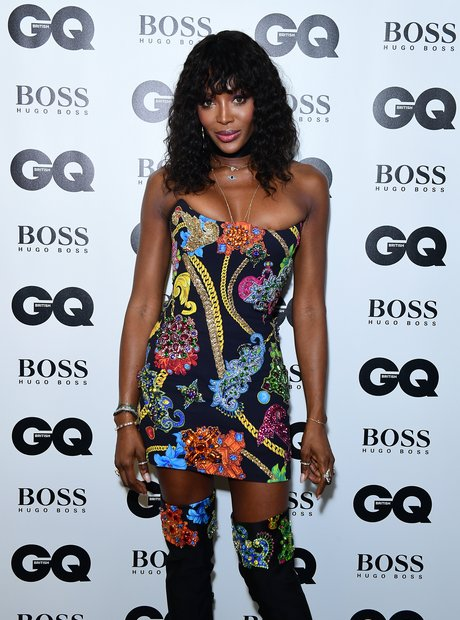 Naomi Campbell at the GQ Awards 2018
