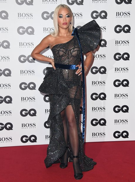 Rita Ora at the GQ Awards 2018