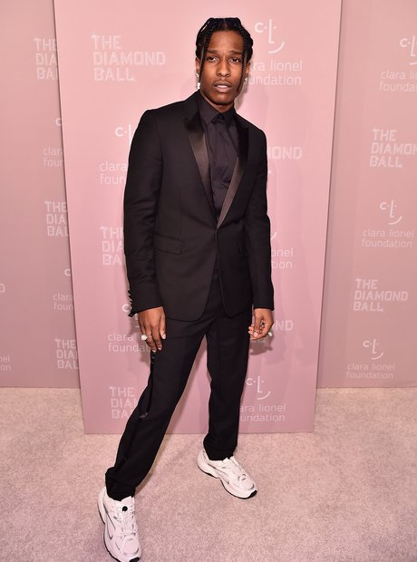 A$AP Rocky at 4th Annual Diamond Ball 2018