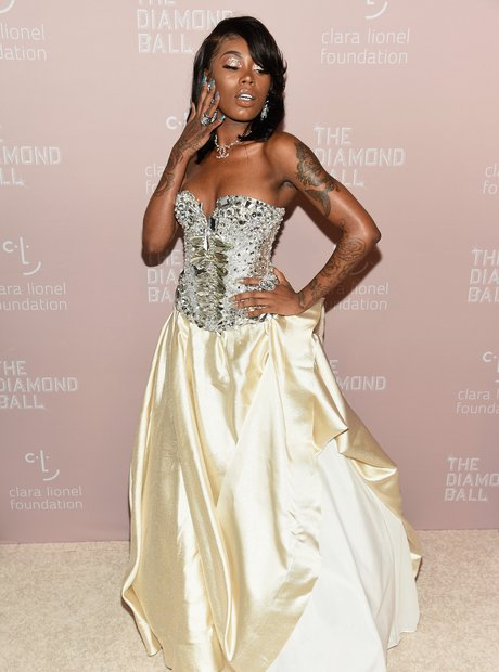 Asian Doll at 4th Annual Diamond Ball 2018