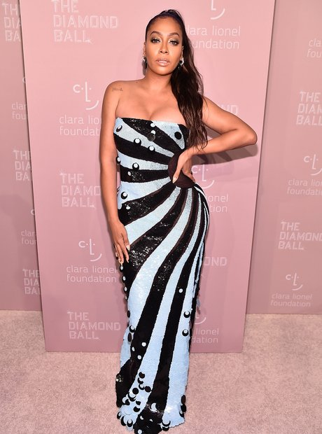 La La Anthony at Rihanna's 4th Annual Diamond Ball