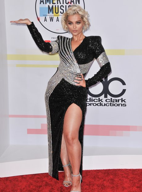 Bebe Rexha AMAs 2018 Red Carpet Dress
