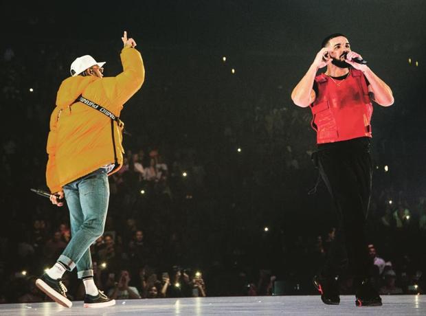 Chris Brown Drake LA Tour