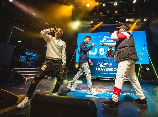 Capital XTRA Homegrown Live