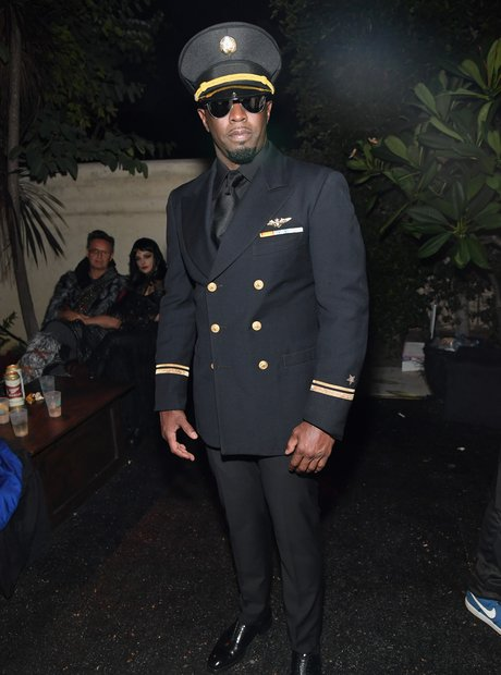 Diddy on Halloween