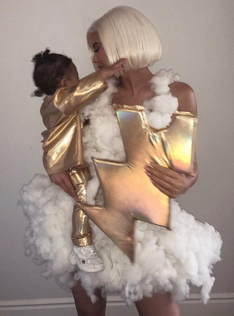 Hip-Hop Halloween 2018 Kylie and Stormi