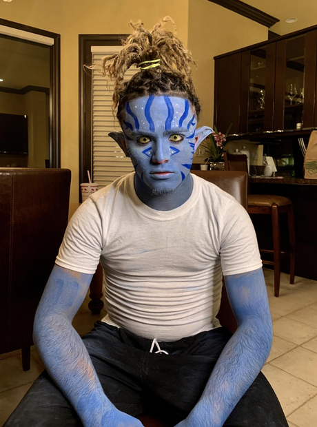 Lil Pump on Halloween 2018