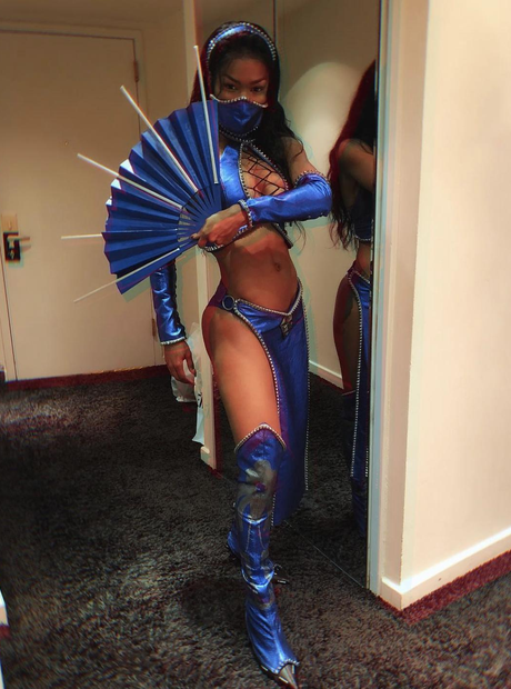 Teyana Taylor on Halloween