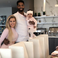 Image 1: Khloe Kardashian, Tristan Thompson and True on Tha