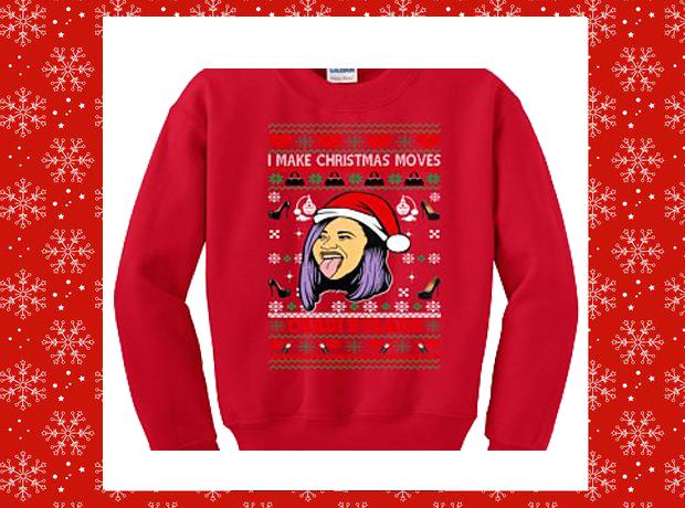 Cardi B Christmas Jumper