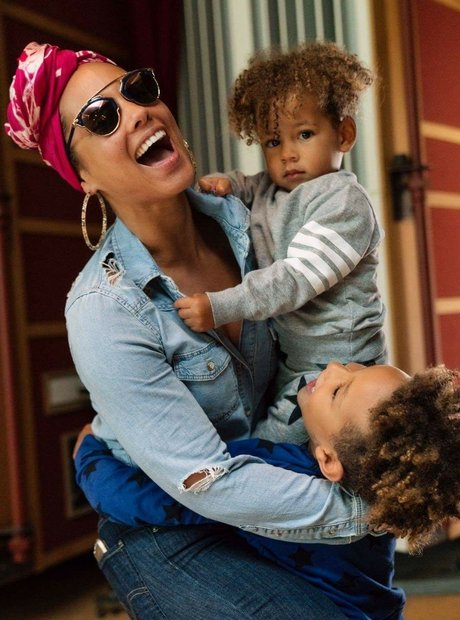 Alicia Keys children