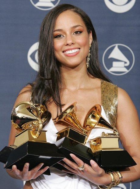 Alicia Keys Grammy Awards 2005