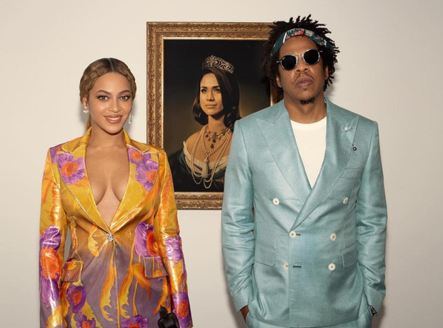 JAY-Z and Beyoncé win a BRIT Award for their joint