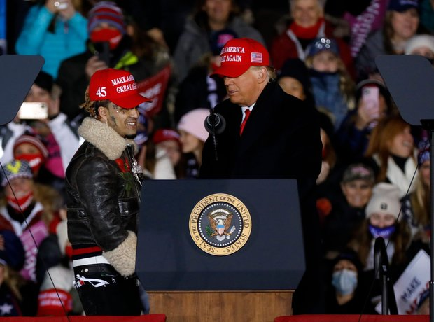 Does Lil Pump support Donald Trump?
