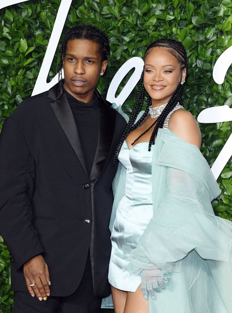ASAP Rocky and Rihanna